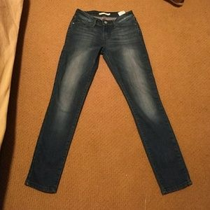 Levi Faded 711 Skinny Blue Jeans 👖❣️